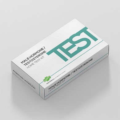 Male Hormone / Testosterone Home Testing Kit